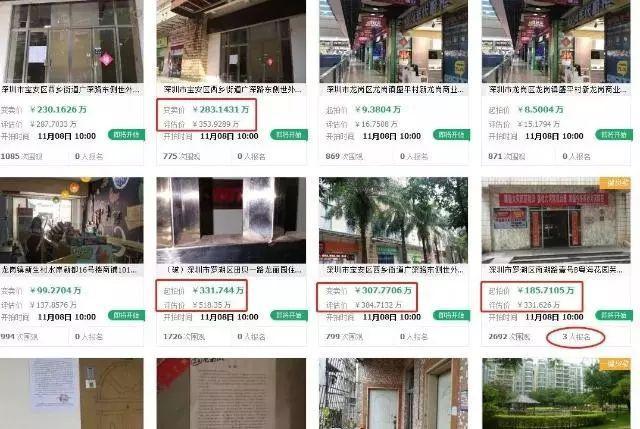 深圳大量房被7折拍卖千万豪宅降价急售?别被套路