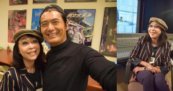 张婉婷前往剪接公司拍摄《逐影》时巧遇周润发