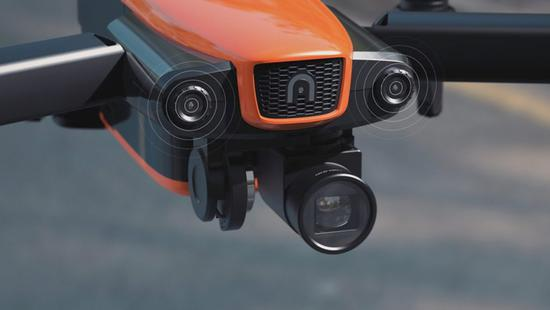 『2018 CES』对飙大疆Mavic Pro Autel发布新款便携式无人机EVO