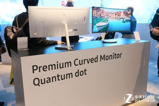 超高色域 三星多款量子点显示器亮相CES