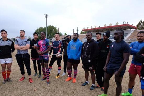 国家橄榄球俱乐部公开选材 入选者或参加东京奥运