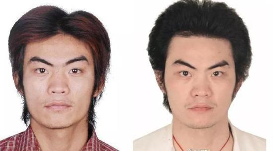 ▲嫌疑人照片。图片据广州清远