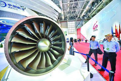中国国产最大航空发动机亮相珠海航展