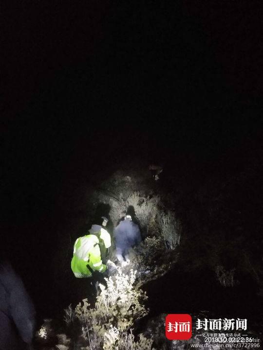 兩驢友被困一骨折一高反 警民4800米海拔搜救41時
