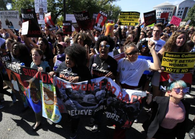 美国多地示威游行抗议大法官提名人 警察逮捕302人