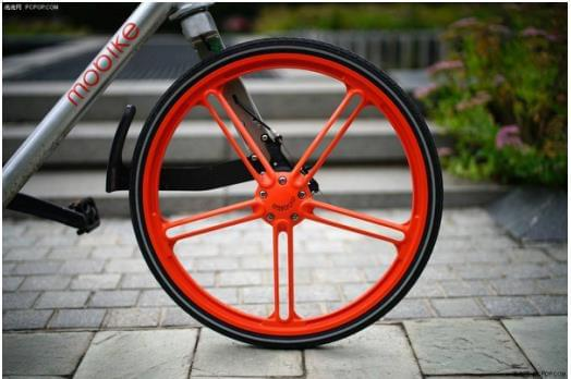 摩拜单车是无链自行车