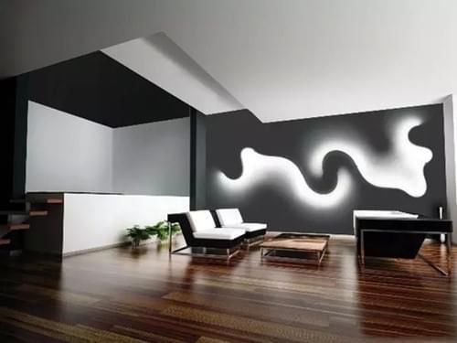 另类家居设计,墙壁设计,灯具,鹅卵石抱枕,烤饼坐垫,青岛家居设计