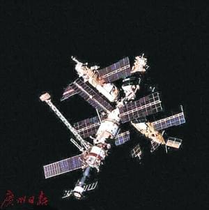 前苏联时期和平号空间站