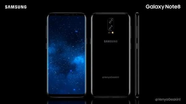 概念设计图:三星Galaxy Note 8会是这个样子?的照片 - 1