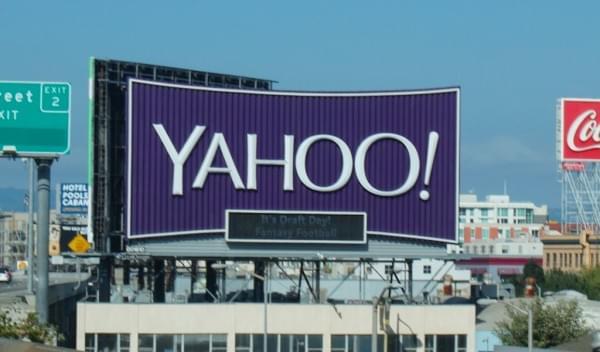 """雅虎开发通过摄像头和麦克风捕捉人们想法的""""智能""""广告牌"""