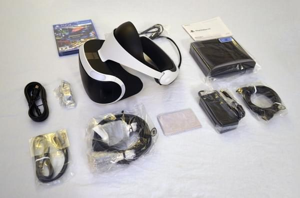 索尼PS VR零售版开箱 附赠这几款游戏大作的照片 - 6