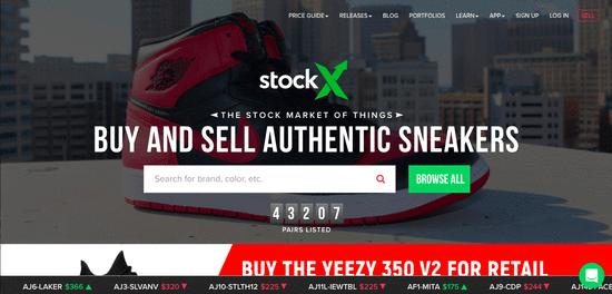 这家卖限量款球鞋的网站融资600万美元 估值10亿