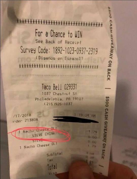 韩学生在美快餐店被骂中国佬 涉事店员被解雇