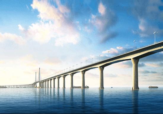 欧维姆助力港珠澳大桥合龙
