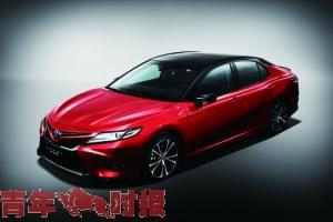 广汽丰田全系车型亮相杭州车展第八代凯美瑞11月登场