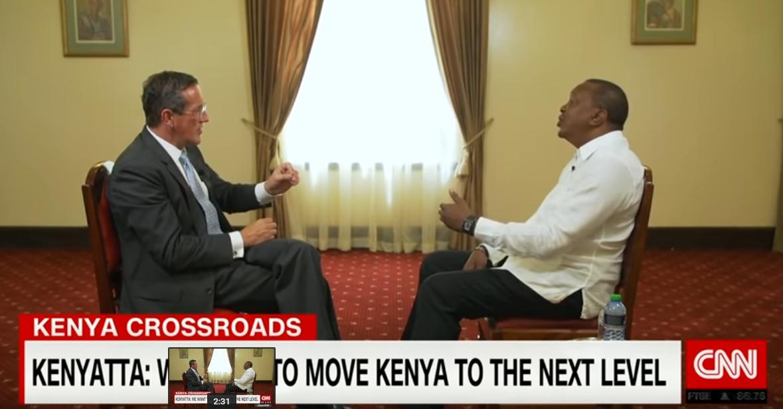 CNN问中国债务陷阱 肯尼亚总统:我们也从美国借钱