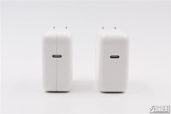 苹果30/29W充电器对比探秘:最大变化是它