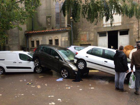 法国南部地区发生洪灾 已确认7人死亡 5人重伤