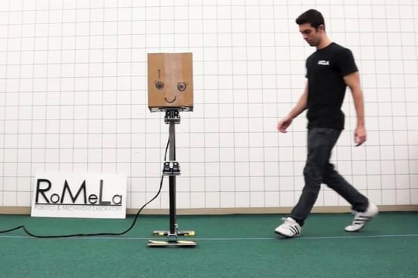 忍俊不禁:研究人员开发出两款步态奇特的行走机器人的照片 - 5