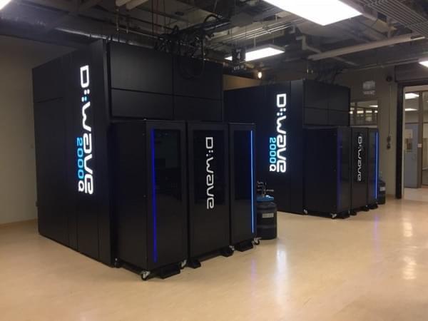 D-Wave 将交付全新 2000Q 型量子计算机:价值 1500 万美元的照片
