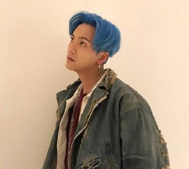 蓝、灰、粉发!陈伟霆回应频换发色:想年轻一回
