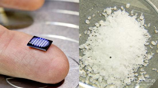 世界上最小的电脑将现身 IBM说TA比盐粒还小的