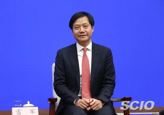 小米集团董事长兼首席执行官雷军(来源:国新办)