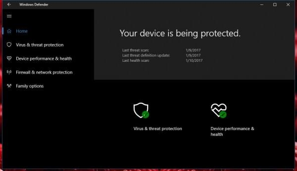 Windows 10的防病毒软件在RedStone 2中将获得重大升级的照片 - 1