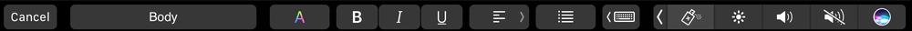 抢先看苹果自家的应用会如何支持Touch Bar的照片 - 29