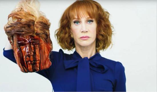 女主持在节目辱骂伊万卡 特朗普:她怎么还没被开除