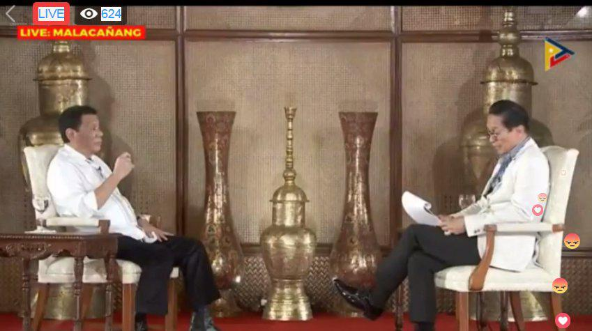 杜特尔特:反对派打算9月21日暗杀我 想动手就要快