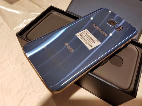 珊瑚蓝版Galaxy S7 edge开箱的照片 - 13