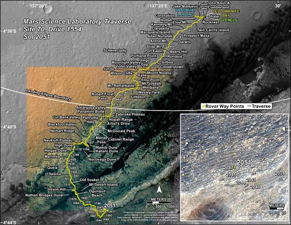 火星上发现了液态水 各国什么时候飞过去?
