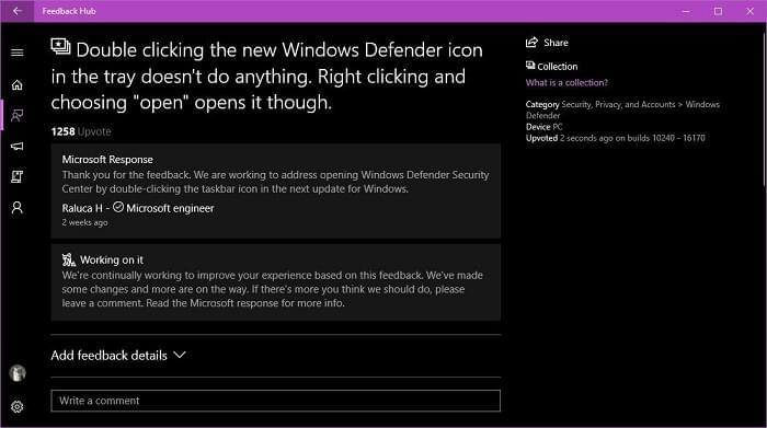 微软终于修复了Win10 RS3中恼人的Windows Defender Bug的照片 - 2