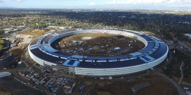 苹果宇宙指挥中心已近完工 2017年使用