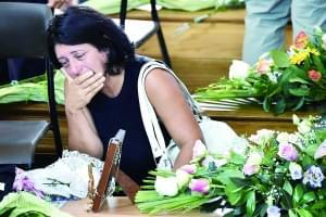 意大利为地震逝者举行国葬