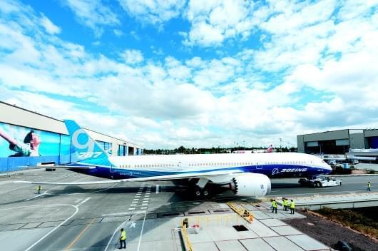 波音787-9梦想飞机