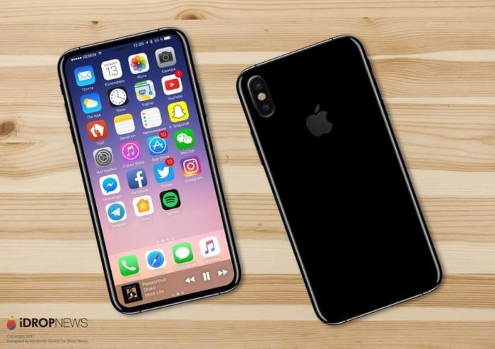 基于真实设计图的iPhone 8渲染图:屏占比可和S8一较高下的照片 - 5