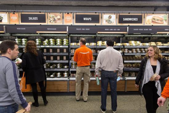 开始向全美扩张,亚马逊在芝加哥开设无人便利店