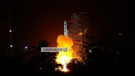 长征三号甲运载火箭成功发射第32颗北斗导航卫星