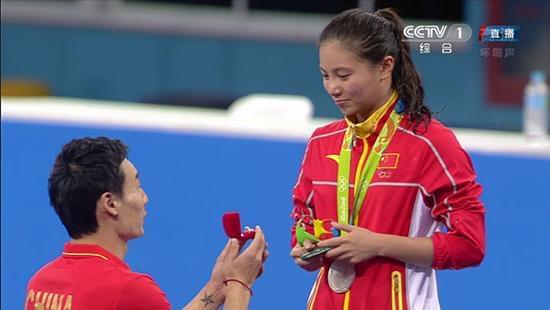 女子三米板重庆姑娘施廷懋摘金 成就个人大满贯