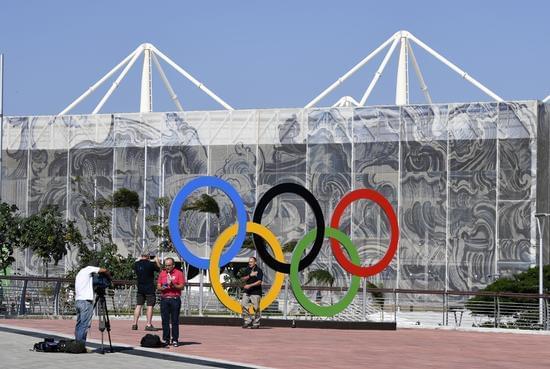 里约热内卢巴哈奥林匹克公园内图片