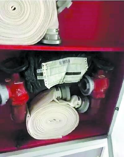 您的快递  已由消防栓签收