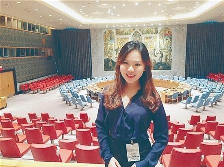 95后女生进联合国总部实习 曾美国大学提前毕业