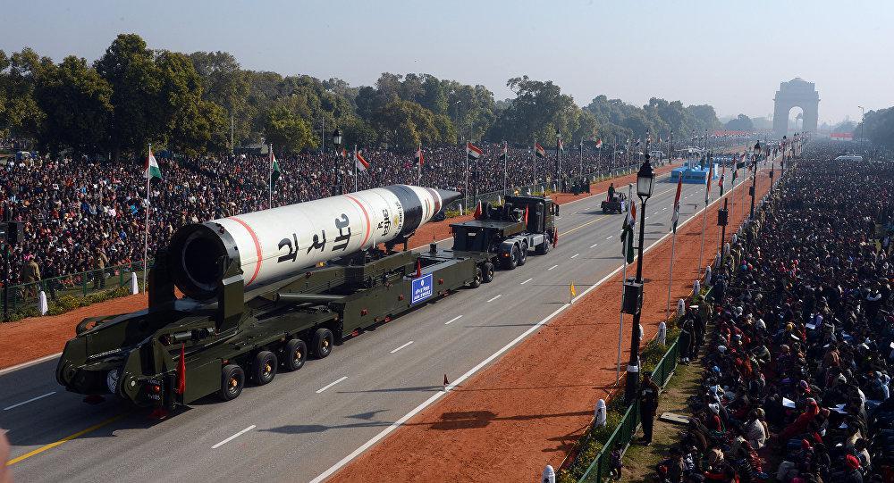 外媒:印度将列装烈火5弹道导弹 射程超5000公里