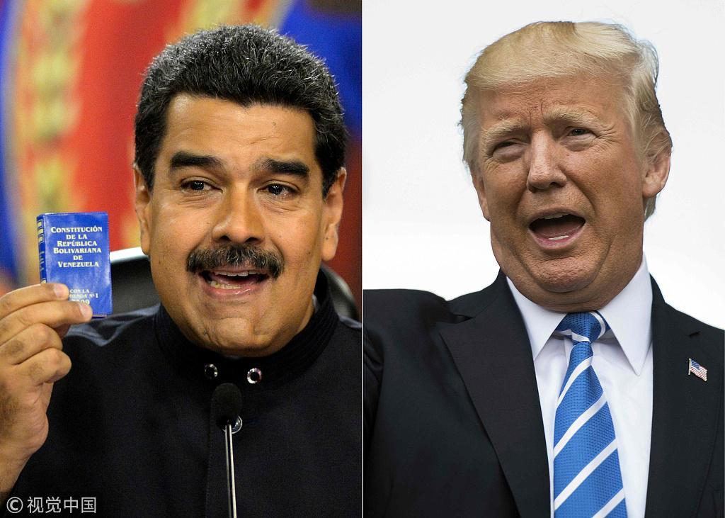 """""""制裁""""不夠?美國稱對委內瑞拉政府施壓將""""加碼"""""""
