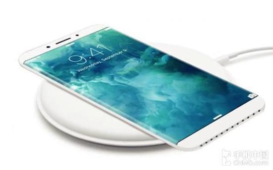 iPhone 8无线充电概念图