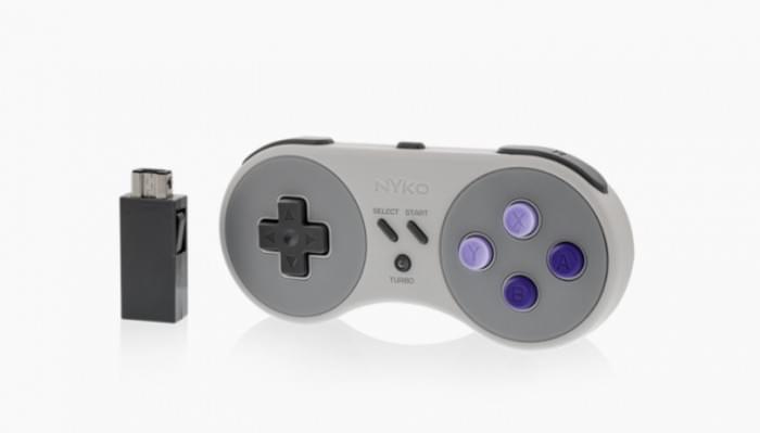 Nyko为任天堂SNES经典版推出专用无线手柄