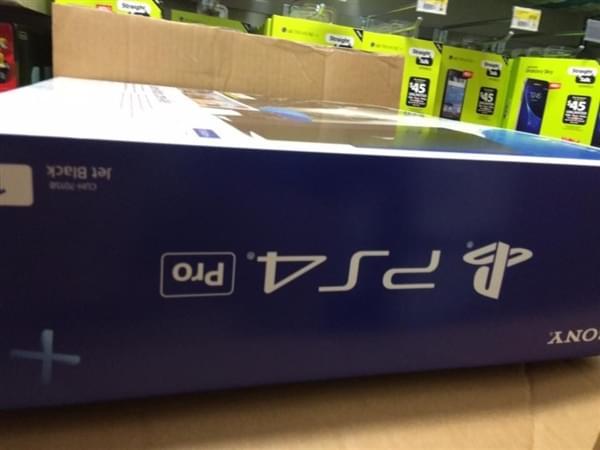 索尼PS4 Pro包装盒曝光的照片 - 5