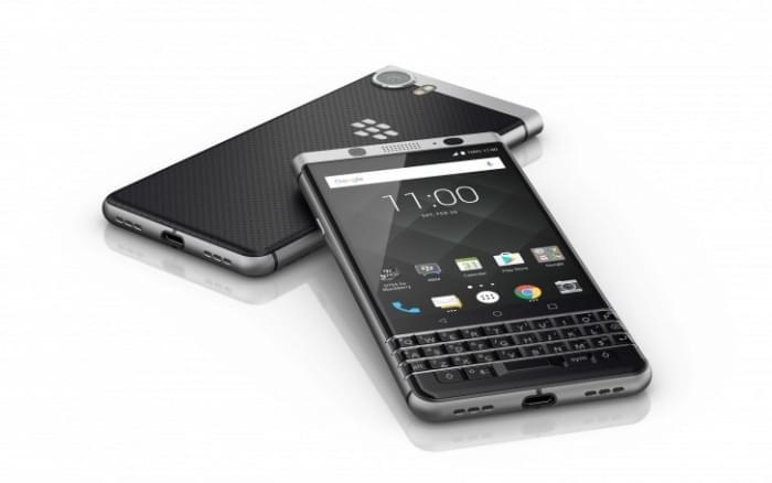 黑莓全键盘新机正式名称为BlackBerry KEYone的照片 - 1